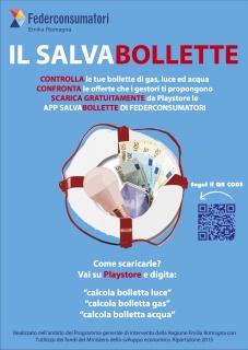 Locandina app Salvabollette